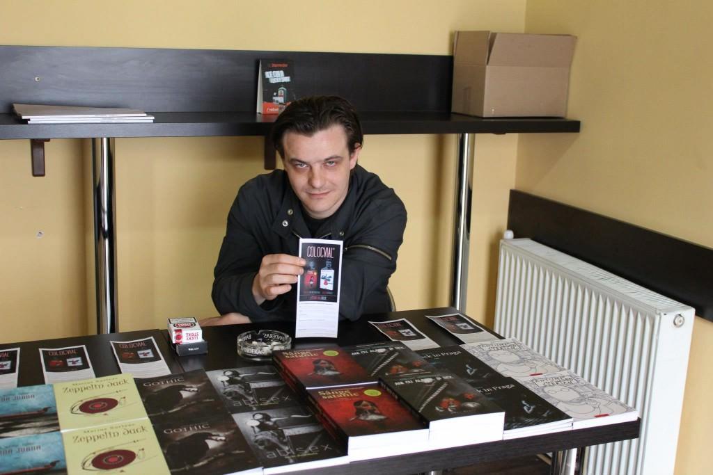 Interviu cu directorul editurii Herg Benet, Alex Voicescu
