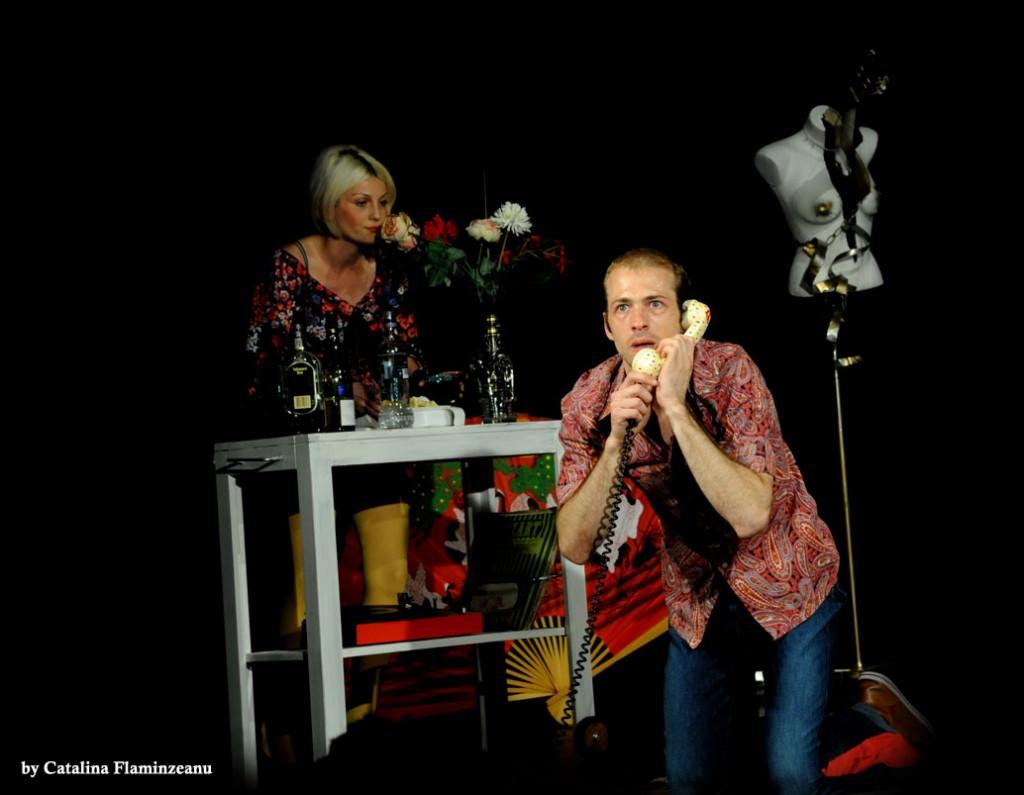 Comedie Neagra - Alina Popescu, Istvan Teglas