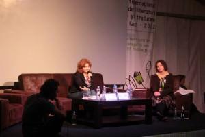Corina Bernic, despre FILIT 2013, poftă de poezie şi oameni mişto