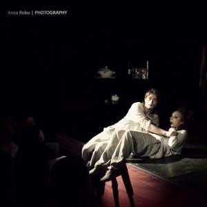 Marius Manole, Ilinca Manolache in spectacolul Masculin-Feminin