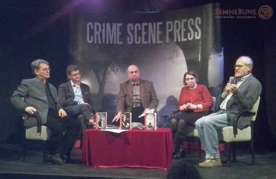 Scena unei reînvieri. Crime scene Press