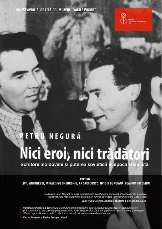 Ziua Internațională a Cărții la Muzeul Literaturii Române Iași marchează deschiderea Librăriei din Casa Pogor cu o lansare de carte