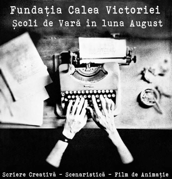 Scriere creativa si scenaristica -  August FCV