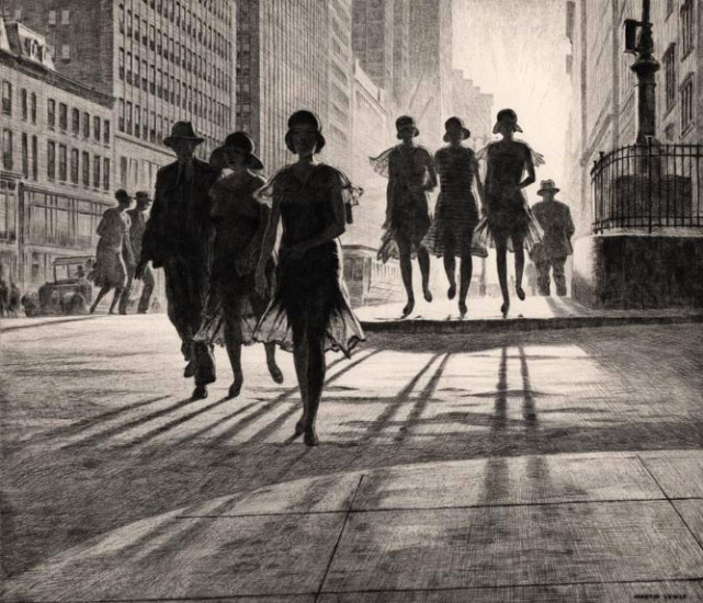The Naked City, Martin Lewis
