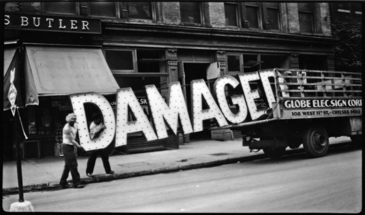 Walker Evans, Damaged, c 1928-30 via Telegraph UK