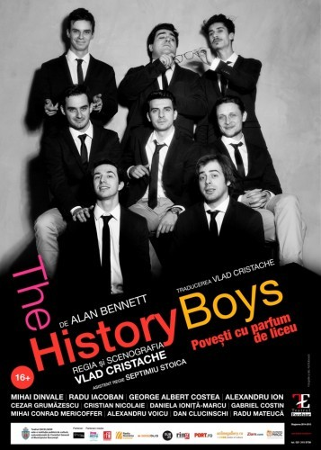 Afis-The history boys. Adi Bulboaca