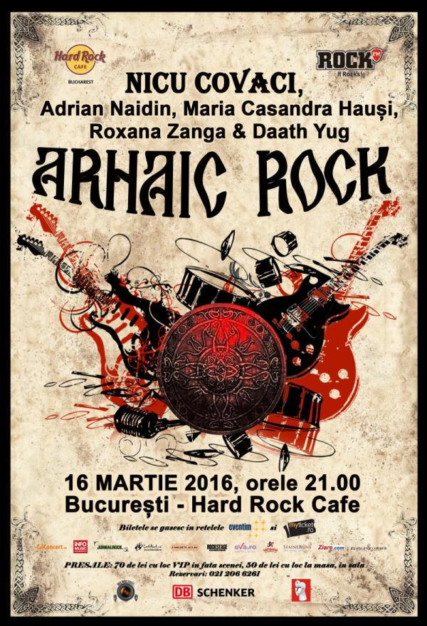 Rock Arhaic afis mic