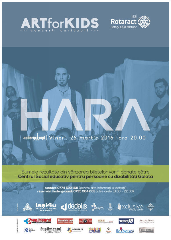 afis concert HARA 3+media