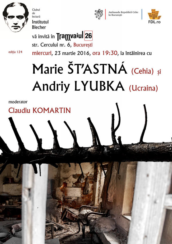 intalnirea cu Marie stastna si Andriy Lyubka