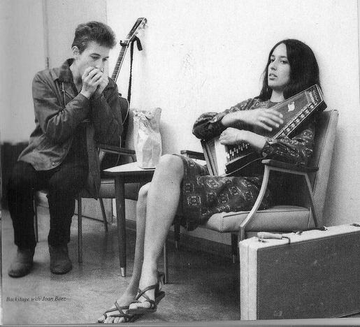 Dylan și Joan Baez