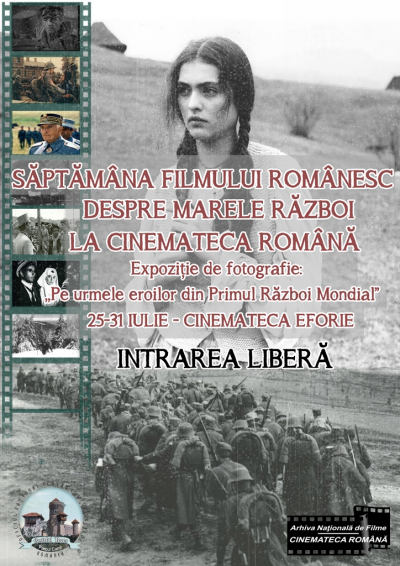 Afis Saptamana filmului romanesc despre Marele Razboi